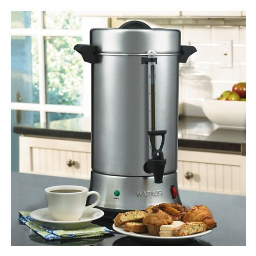 Waring Commercial WCU550 55-Cup Commercial Heavy Duty Stainless Steel...