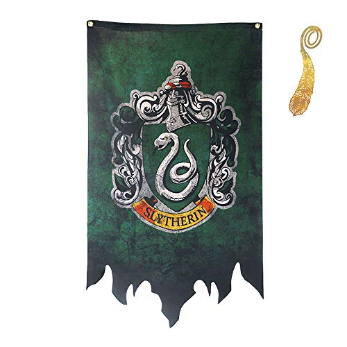 Harry Potter de Bannière - Gryffondor Serpentard Couleurs Serdaigle House drapeaux Collection Slytherin