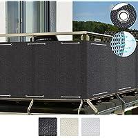 Sol Royal Frangivista e telo frangivento per balconi SolVision HB2 90x500 cm isolante - con occhielli - antracite
