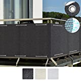 Sol Royal SolVision Brise vue pour balcon HB2 HDPE en Polyethylen 300x90 cm ou 500x90 cm Disponible en differente couleurs
