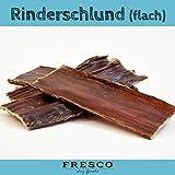 Fresco Hundesnack Naturkausnack Kausnack Snack für Hunde getreidefrei artgerecht natürlich Rinderschlund flach 500g