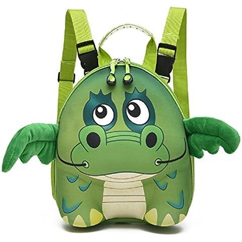Ashdown Kids mochila conjuntos Cute Animal estuche portalápices Monedero Regalos de cumpleaños