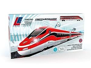 LE Toys LET13203 - Treno Frecciarossa, Rosso