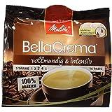 Melitta Gemahlener Röstkaffee in Kaffeepads, 10 x 16 Pads, 100 % Arabica, vollmundig und intensiv, mittlerer Röstgrad, Stärke 3 bis 4, BellaCrema