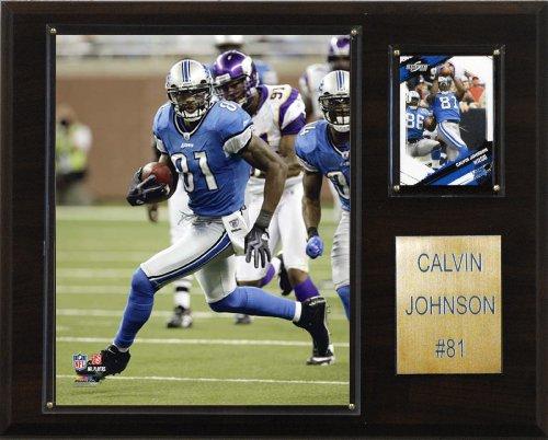 C & I Collectables NFL Calvin Johnson Detroit Löwenspieler-Plakette Calvin Johnson Nfl