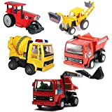 Akshat Centy Toy Set Of 5 (JCB,Crane,Roller Coster,Dumper Truck And Mixing Machine) Toy Set For Kids Centy Toys Truck Centy Toy Cars Centy Toy Truck Centy Toy Set