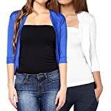 Softwear Women's Viscose White-Royal Blu...