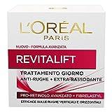 L'Oréal Paris Revitalift Crema Viso Antirughe Extra-Rassodante Giorno con Pro-Retinolo Avanzato, 50 ml
