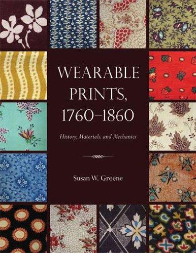 Wearable Kostüm - WEARABLE PRINTS 1760-1860