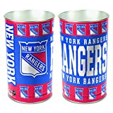 Wincraft NHL New York Rangers 15 Waste Basket, Team Color, One Size