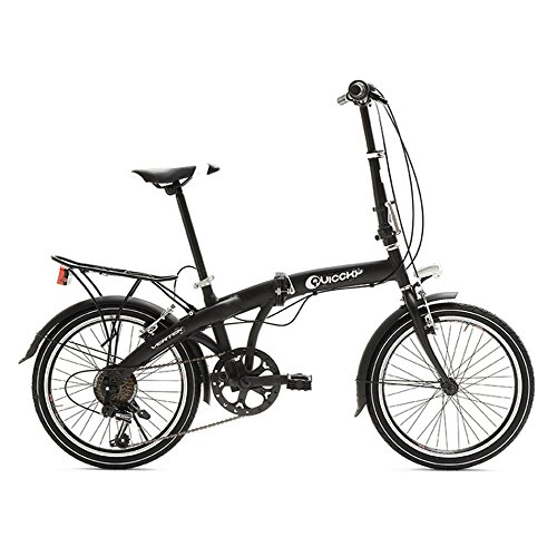 VERTEK BICICLETA PLEGABLE QUICCKY 20 6 VELOCIDAD NEGRO (PLEGABLES)/FOLDING BICYCLE QUICCKY 20 6 SPEED BLACK (FOLDING)