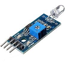 Calli Módulo 4 pines detección módulo sensor fotodiodo para Arduino