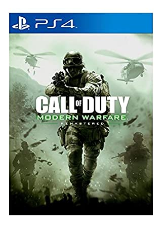 COD Modern Warfare Remastered (PS4)
