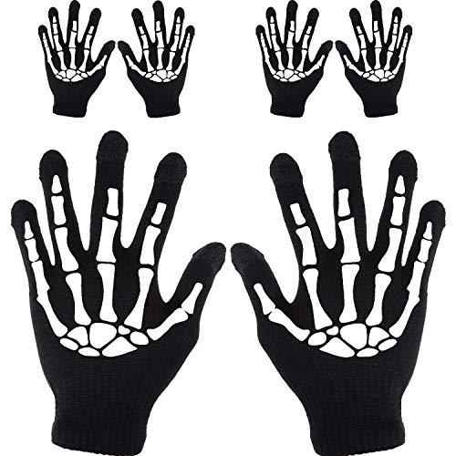 Tatuo 3 Paar Touchscreen Handschuhe Mechaniker Handschuhe Winterwarme Handschuhe (Stil 1) (Mechaniker Kostüm Frauen)