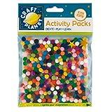 Craft Planet 7 mm 9 g Pompom Pack, Multi-Colour