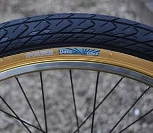 Xposure Dave BMX Tan Wall Tyre (GUM) 2.0