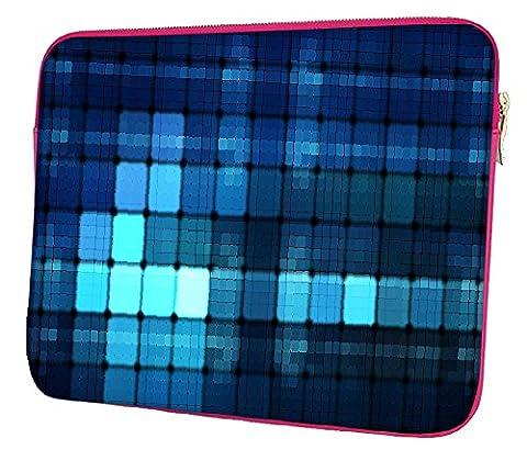 snoogg Bleu LED Large Étui 30,5cm cm à 31,8cm