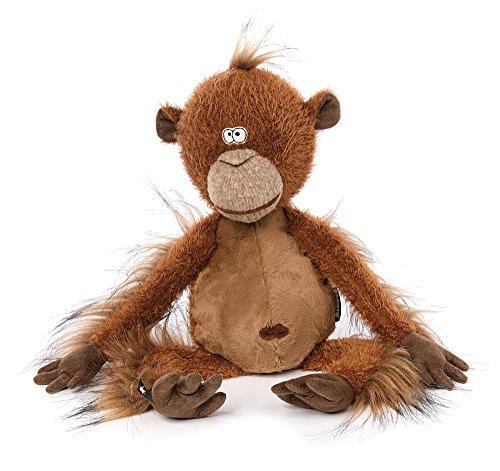 sigikid, Stofftier für Erwachsene und Kinder, Affe, Mon Key, BeastsTown, Braun, 38741