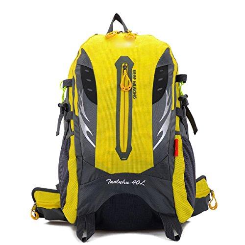 Yueer Ambientazione Esterna Escursionismo Uomini E Donne Le Spalle I Viaggi Escursioni Campeggi Ciclismo Multifunzionale Zaino 40L,A B