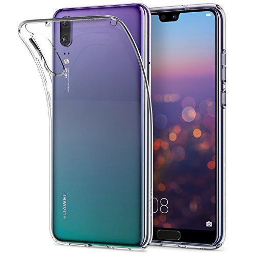 Spigen Liquid Crystal Huawei P20 Hülle (L21CS23081) Transparent TPU Silikon Handyhülle Kratzfest Durchsichtige Schutzhülle Flex Case (Crystal Clear)