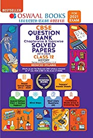 Oswaal CBSE Question Bank Class 12 History Chapterwise & Topicwise Solved Papers (Reduced Syllabus) (For 2