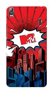 MTV Gone Case Mobile Cover for Lenovo A7000