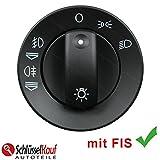 Auto Lichtschalter Scheinwerferschalter NUR 8E0941531A mit FIS NEU UNBEDINGT DIE OE NUMMER ABGLEICHEN!