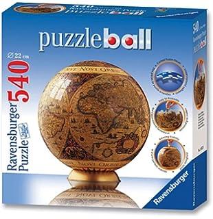 Puzzles Geduldspiel Globus in deutscher Sprache 3D Puzzle-Ball 540 Teile Spiel Deutsch 2017