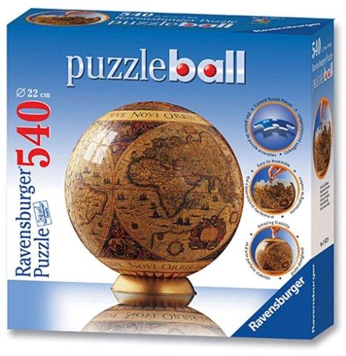 Ravensburger - Historische Weltkarte, 540 Teile Puzzleball