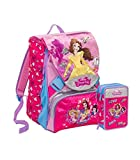 ZAINO SEVEN PRINCESS/PRINCIPESSE MAGICAL DREAM DISNEY SCHOOLPACK SEVEN PRINCESS 2018/19+ASTUCCIO R GADGET IN OMAGGIO