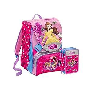 Mochila Seven Princess/Princesas MagICAL DREAM DISNEY SCHOOLPACK SEVEN PRINCESS 2018/19 + Estuche R Gadget de regalo