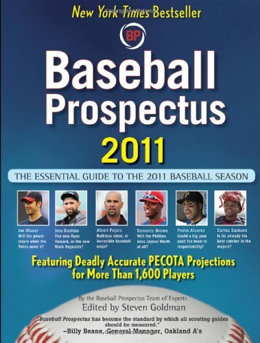 Baseball Prospectus 2011 by Baseball Prospectus (24-Mar-2011) Paperback