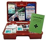Erste-Hilfe-Koffer GASTRO für Betriebe DIN/EN 13157 inkl. Augenspülung + Brandgel + detektierbare Pflaster + Hydrogelverband