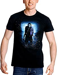 Batman The Dark Knight - T-Shirt Homme Joker - Noir
