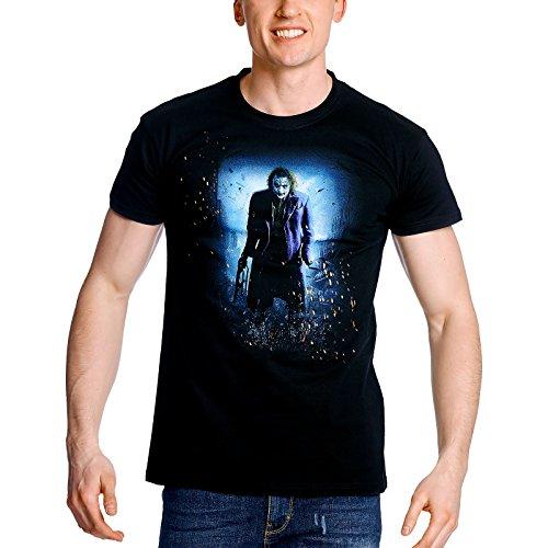 Batman-Camiseta El Caballero Oscuro Joker - XXXL