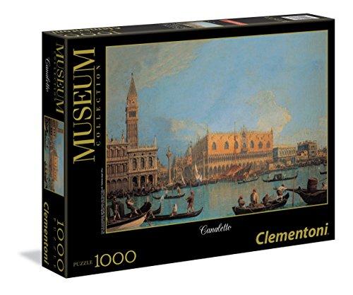 Clementoni - 393466 - Puzzle - Canaletto - Le Bucintoro à Venise - 1000 Pièces