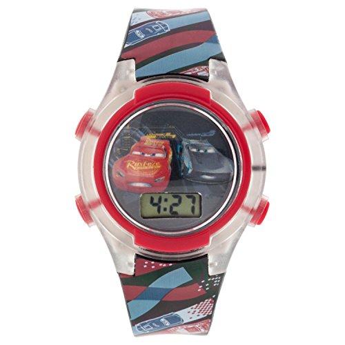 Disney CRSKD16004FL Digital-Armbanduhr für Kinder, Mehrfarbig