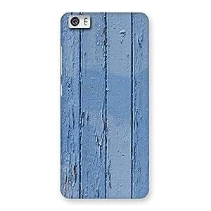 Blue Wood Wall Back Case Cover for Xiaomi Redmi Mi5
