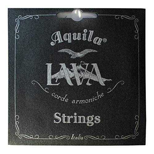 Aquila AQ U LS 119U Lava Series Ukulele Set (8-String, Tenor, wound)