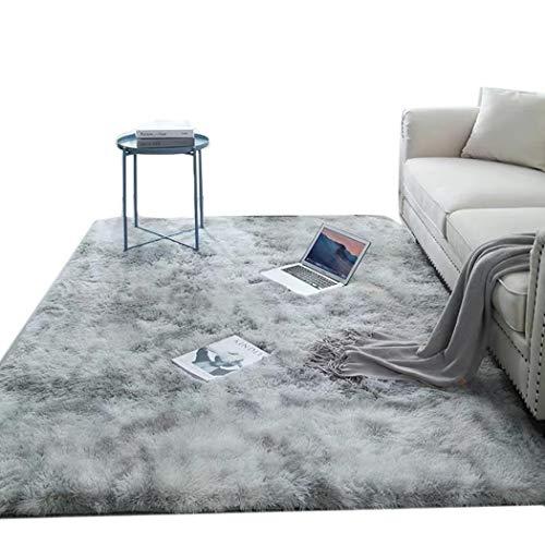 Wekold Super Soft Area Teppich, Indoor Modern Carpet Fluffy Anti-Skid Pelz Teppich, für Schlafzimmer Wohnzimmer Kids Decor Boden