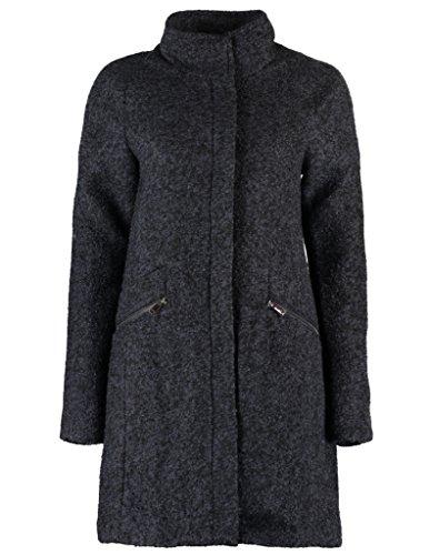 Vero Moda - VMCIRI Damen 3/4 Wolle Wintermantel, Blau Größe Eleemosynary EUR 40