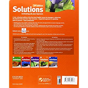 Solutions Upper Intermediate Student's Book Pack 2ª Edición (Solutions Second Edition)