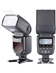 Neewer NW690/MK950II ETTL LCD pantalla Speedlite Flash Esclavo para Canon cámaras réflex digitales