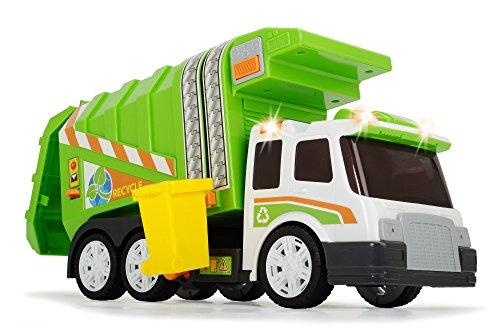 Dickie Camión de basura, color naranja ( 3308357)