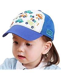 47953bf18bc Happy Cherry Casquette de Base-Ball Bébé Garçon Fille Toddler Kid en Coton  Bordé à