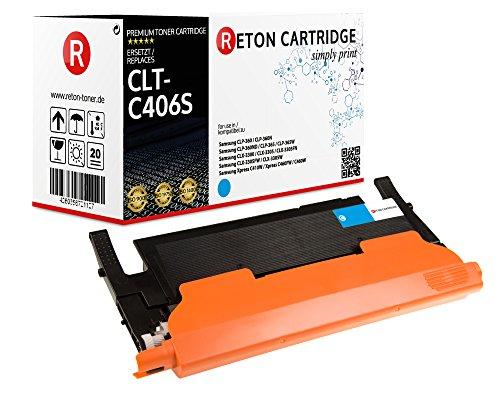 Preisvergleich Produktbild Original Reton Toner,  kompatibel,  nach ( ISO-Norm 19798 ) ersetzt CLK-C406S für Samsung CLP-360 CLP-365 CLP-365W CLX-3300 CLX-3305 CLX-3305FN CLX-3305FW CLX-3305W Xpress C410W Xpress C460FW C460W