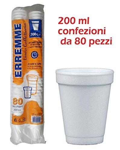 Zoom IMG-2 80 bicchieri termici da 200