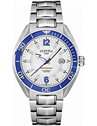 Roamer Men's Quartz Watch with White Dial Chronograph Display and Silver Stainless Steel Bracelet 211633 41 14 20