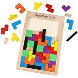 SainSmart Jr. Tetris Holzpuzzle Denkspielzeug, Lernspiel,geniale Geschenkidee