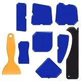 Die besten Badezimmer Sealants - Werkzeug Schaber Kit, 9 Stück Abdichtung Werkzeug Caulk Bewertungen